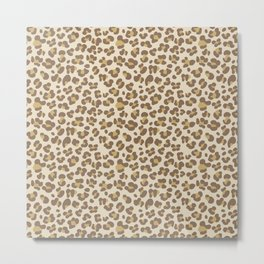 Baby leopard Metal Print