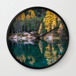 Lai da Palpuogna Wall Clock