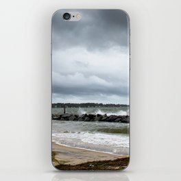 Yorktown Beach post Florence 2 iPhone Skin