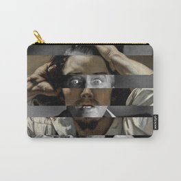 Courbet's The Desperate man & James Stewart Carry-All Pouch