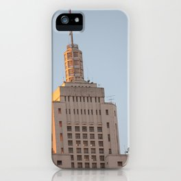 Edifício do Banespa iPhone Case