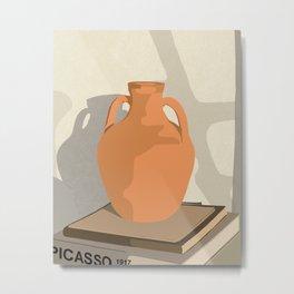 Antique vase #abstract #digitalart Metal Print
