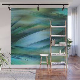 Soft Feathered Lights Abstract Wall Mural