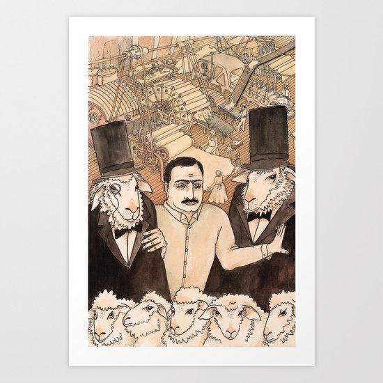 IND ARG Art Print