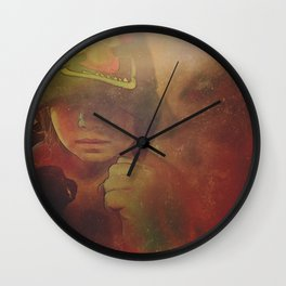 Rouse the Warrior Spirit Wall Clock