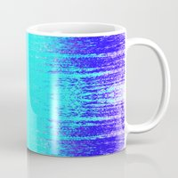 surf Mugs featuring Surf by M Studio