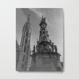 Matthias Church. Metal Print