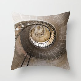 Lighthouse Spiral staircase Throw Pillow