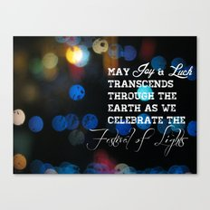 Festival lights Canvas Print