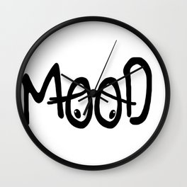 Mood #2 Wall Clock