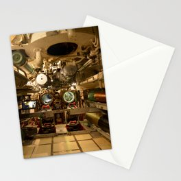 The USS Batfish SS-310 - Below Deck in the Forward Torpedo Room, #2 Stationery Cards