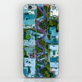 San Francisco Aerial (Color) iPhone Skin