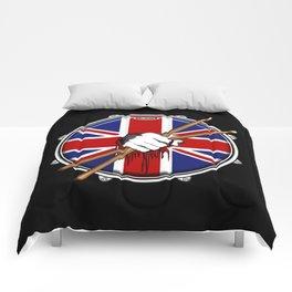 Brit Fist Drummer Comforters