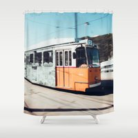 budapest Shower Curtains featuring Budapest by Johnny Frazer