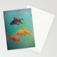 Three Fish More fish Stationery Cards