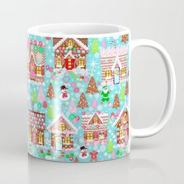 Gingerbread House Christmas Winter Candy, sweets.christmas gift, holiday gift for kids of all ages, Coffee Mug