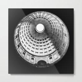 Pantheon occulus Metal Print