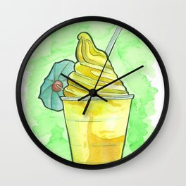 Dole Whip Wall Clock