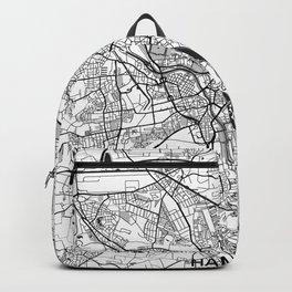 Hanover Map Gray Backpack