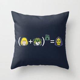 He-Math Throw Pillow