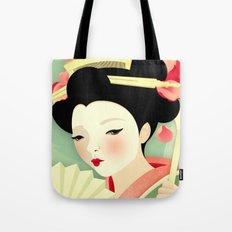Geisha: Rose Tote Bag
