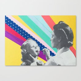 Mary Goes to the Dentist Canvas Print