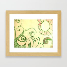 greenprince Framed Art Print