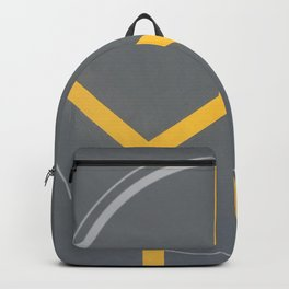 Too Bee Or Not - circle graphic Backpack
