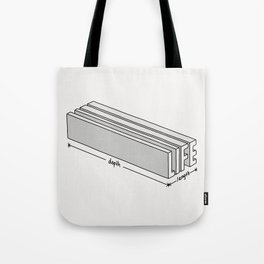 Life is short but deep Tote Bag