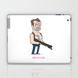 7 - John McClane Laptop & iPad Skin