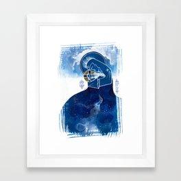 More Spacious Than The Heavens Framed Art Print