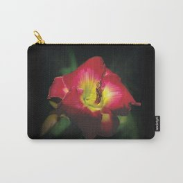 Glorious red daylily Joan Derifield Carry-All Pouch