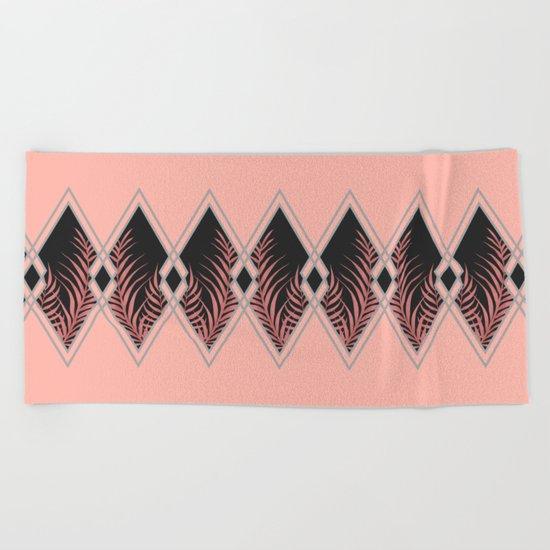 Pink D Co Society6 Decor Buyart Beach Towel By Designdn