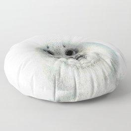 Adorable Seal Pup Floor Pillow