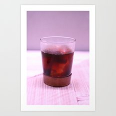 Cold Drip Coffee Art Print