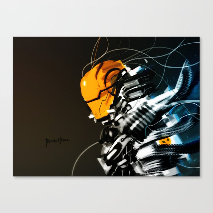 Wired Custom 13 Canvas Print