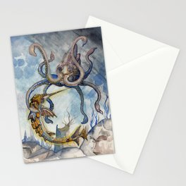 Krokenfight Stationery Cards