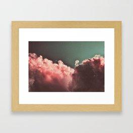 Pink Cotton Framed Art Print