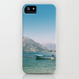 Bay of Kotor 14 iPhone Case