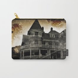 Haunted Hauntings Series - House Number 4 Carry-All Pouch