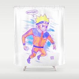 RASENGAN Shower Curtain