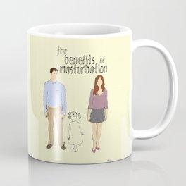 the Benefits of Masturbation Coffee Mug