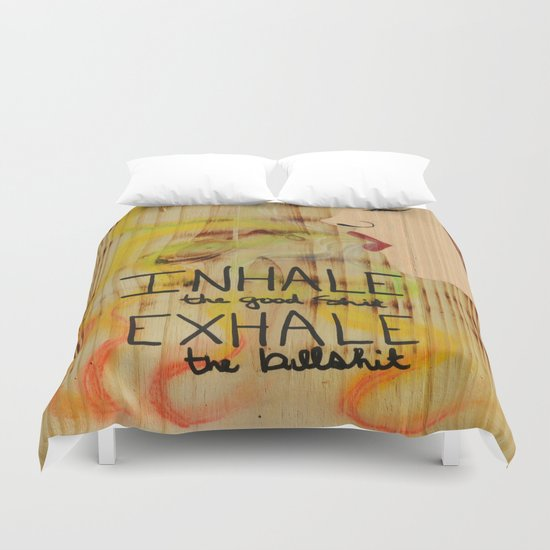Rasta Smoke Dreams - Smoking Lady Series Duvet Cover