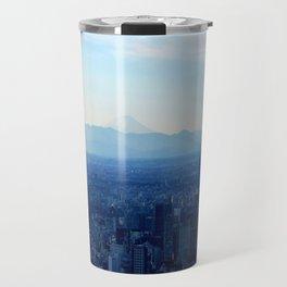 Fuji in the Distance Travel Mug