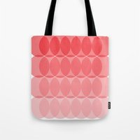 ombre Tote Bags featuring Ombre by TypeArtist
