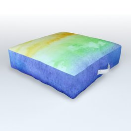 Some kind of rainbow Outdoor Floor Cushion