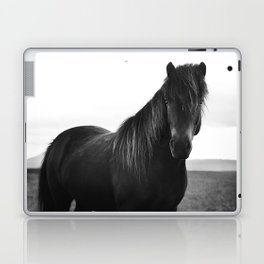 Icelandic horse Laptop & iPad Skin