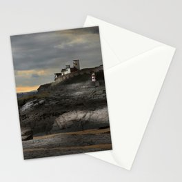 Steampunk / Burtonesque Coastal Fort Stationery Cards