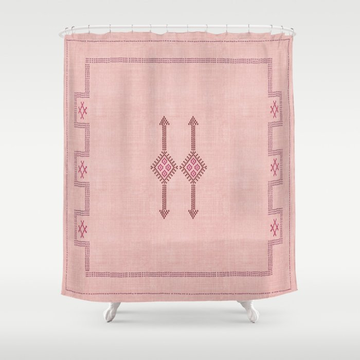 Bungalow Kilim Shower Curtain By Beckybailey1