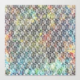 partake pattern Canvas Print